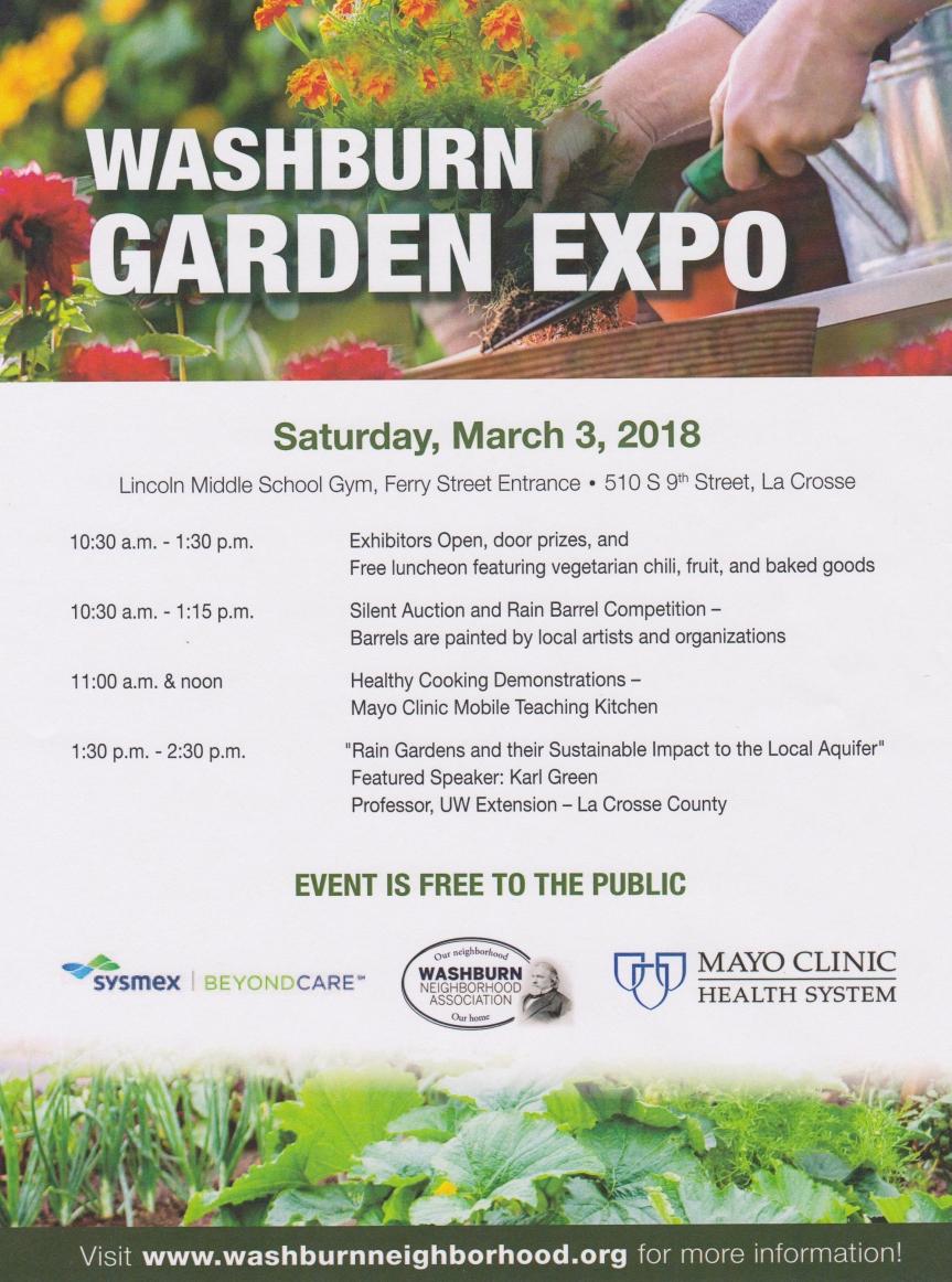 Garden Seminar poster